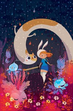 Fionna and Cake #illustration #art #inspiration