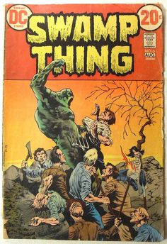 photo #cover #comic book #swamp thing