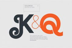 Solomon on the Behance Network #font #solomon #typography