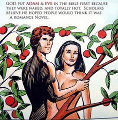 Bible Comix Heroes: Adam & Eve | Flickr - Photo Sharing! #comic #illustration