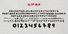 Qipao Font by TEKNIKE » Fontspring - #qipao #typeface #font #kikis #teknike