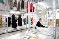 Temporary Fashion Museum by Studio Makkink & Bey Johannes Schwartz #fashion #exhibition #HNI #collection #archive #exhibitiondesign