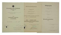Document group of a lance-corporal of 3./ Panzer-Regiment 36.