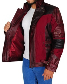 Star Lord Cosplay Leather Jacket (5)