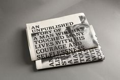 ISTD 2013 - The Unsung Hero #newspaper