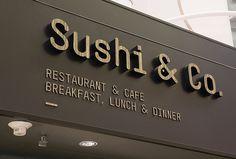Sushi & Co. by Bond #logo #sign