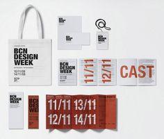 Barcelona Centre Disseny ruiz+company #identity #typography