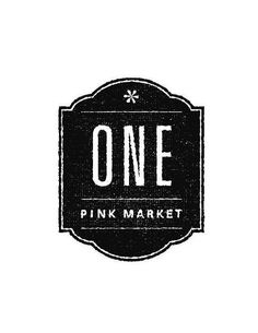 All sizes | One Pink Market   B/W Logo Comp | Flickr   Photo Sharing!