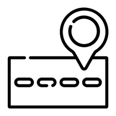 See more icon inspiration related to gps, street, maps and location, street map, map pointer, map point, map location, placeholder, position, pin, map and location on Flaticon.