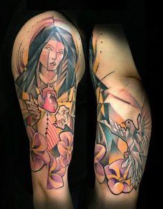 Tattoos by Marie Kraus | koikoikoi #kraus #tattoo #artist #marie