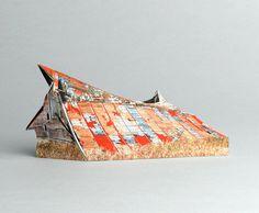 brokenhouses-17 #sculpture #house #art #broken #miniature