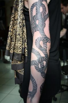 oliver macintosh | Tumblr #tattoo #rope