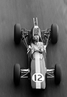 Photography(Jim Clark, Lotus Climax 25, 1964 Monaco Grand Prix, via itsawheelthing) #photography