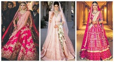 All The Latest and Bestest Bridal Pink Lehengas You Want To Wear All
