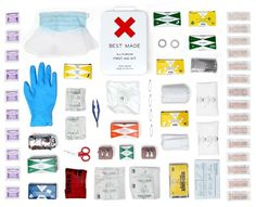 BEST MADE ALL-PURPOSE FIRST AID KIT #aid #first #neatly #company #best #made #organized #things #kit