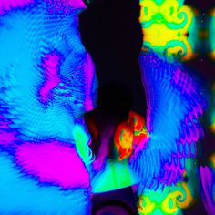 QSL OFFICIAL #abstract #movement #color #photography #portrait #fashion #neon
