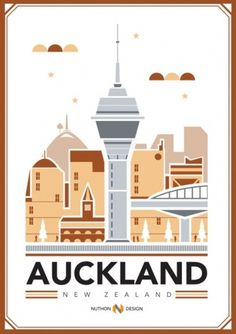 RAWZ #auckland #red #flyer #orange #poster