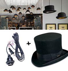 #DIY #lamp #hats