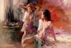 Watercolor Paintings by Willem Haenraets | Cuded #haenraets #watercolor #willem #paintings