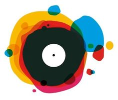Music and vinyl? #music #logo #color