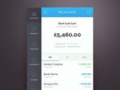 Banking Apps UI Design