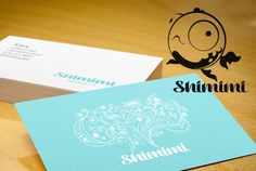 Shimimi on the Behance Network #design #logo #branding #business card #corporate identity