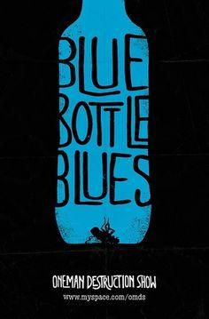 Baubauhaus. #blue #illustration #poster #typography