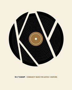 All sizes | KOOP Austin Fundraiser Design | Flickr - Photo Sharing! #austin #band #poster