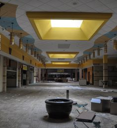 Abandoned Shopping Malls by Seph Lawless #interior #photography #inspiration