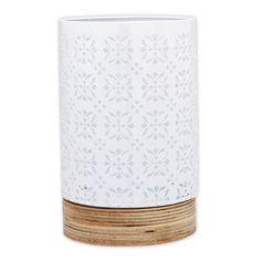 Blondell Metal / Wood Lantern, 22cmH x 14cmD
