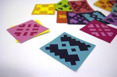 The Nine Streets #pattern #branding