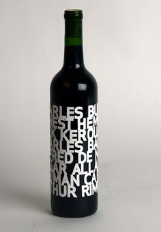 PACKAGING | UQAM: bouteilles #label #wine #bottle