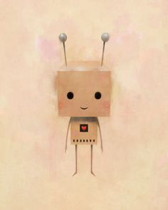 Heart on Behance #robot