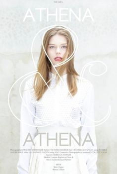 Athena | Volt Café | by Volt Magazine #beauty #design #graphic #volt #photography #fashion #layout #editorial #magazine #typography