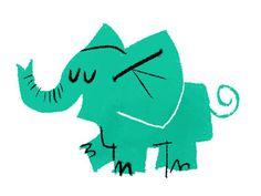 Dribbble #elephant