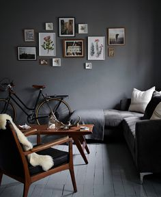small, dark and dreamy / sfgirlbybay #interior design #decoration #decor #deco