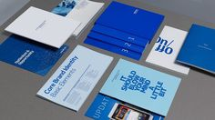 Nokia | Work | DesignStudio #nokia #communications #marketing #branding #clean #simple #collateral #blue