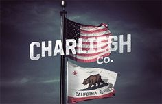 California Republic » Every Reason to Panic #flags #type #california