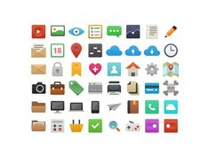 Itsflat_preview #flat #uiux #design #icons