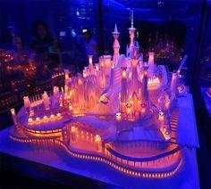Paper Craft Castle – Fubiz™ #paper #castle #art #craft