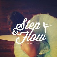 Logo for Step & Flow Dance School #logo #design #branding