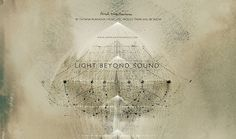 LIGHT BEYOND SOUND on the Behance Network #title #design #graphic #sequence