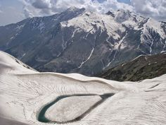 Ansoo Lake – High-altitude lake in the Kaghan Valley #mountain #lake #photography