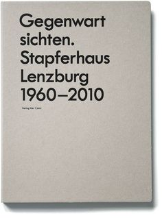 marcus kraft: gegenwart sichten #stamp #cover #minimal #foil #typography