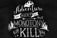 // Adventure #handwritten #type #adventure #script