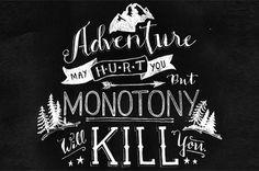 // Adventure #handwritten #type #adventure #script