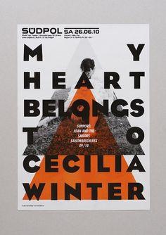 Daniel Peter #poster #typography