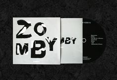 Zomby album #album #uk #design #graphic #garage #elektronica #material #cover #ferro #black #fluid #zomby