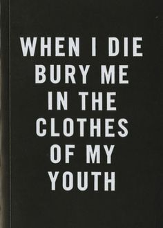 Family Los Angeles - When I Die by Cali Dewitt & Mark Mccoy #white #poem #books #black #and #type