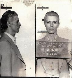slyAPARTMENT #photo #david #mugshot #bowie